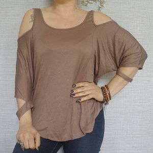 Urban Outfitters Silence +noise open sleeve top L